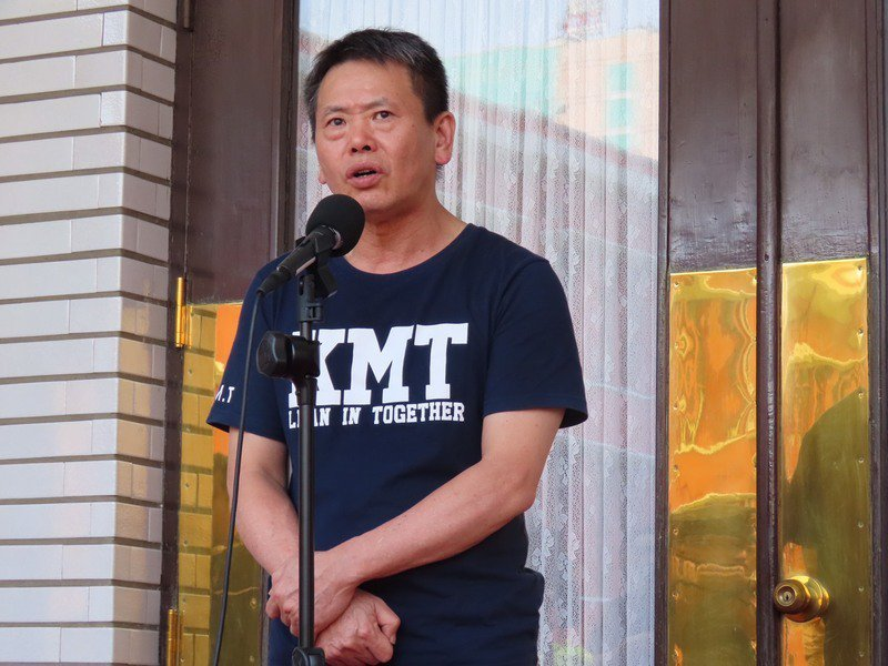 國民黨立法院黨團總召林為洲14日表示,陳菊最不適任的原因,是才剛卸任機關首長,有可能會審到自己的案子會失去公信力。(photo by 施凱文/台灣醒報)