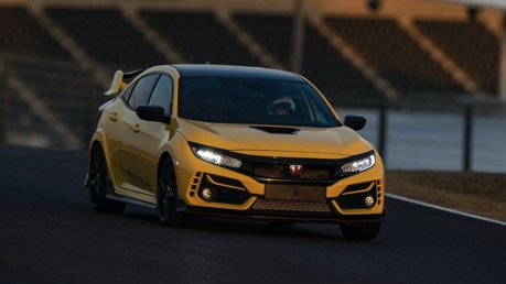 影/Honda Civic Type R Limited Edition刷新Suzuka賽道最速前驅紀錄!