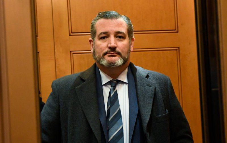美聯邦參議員克魯茲(Ted Cruz)。 美聯社