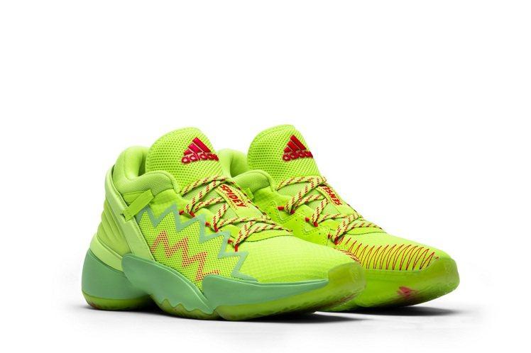 adidas D.O.N. Issue #2簽名鞋款ㄉ3,690元。圖/adid...