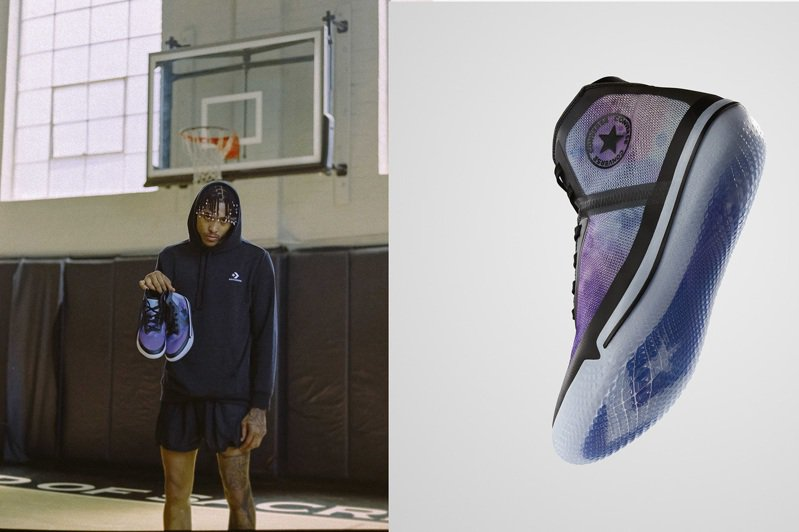Converse為鳳凰城太陽隊Kelly Oubre Jr.打造Soul Collection系列All Star Pro BB籃球鞋。圖/Converse提供