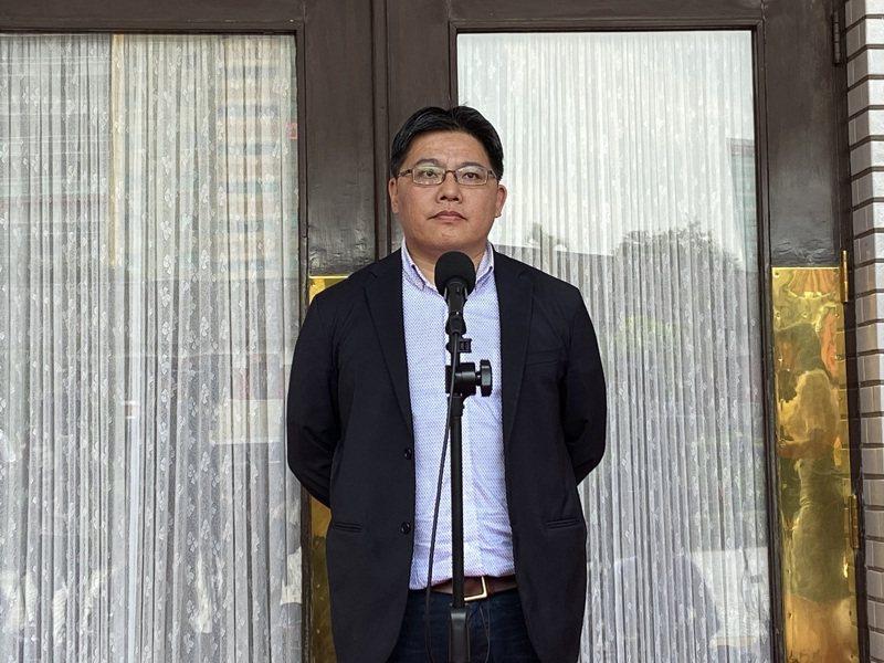 時代力量黨團總召邱顯智。記者蔡晉宇/攝影