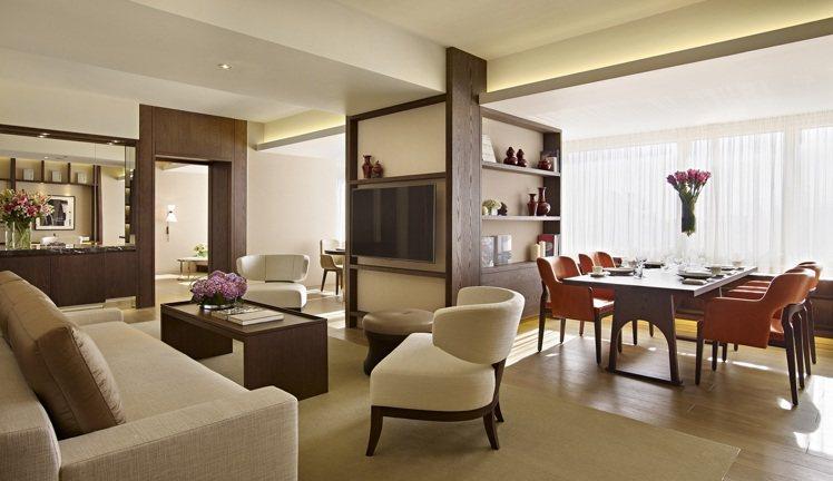 參加活動將有機會免費入住台北君悅套房。圖/台北君悅酒店提供