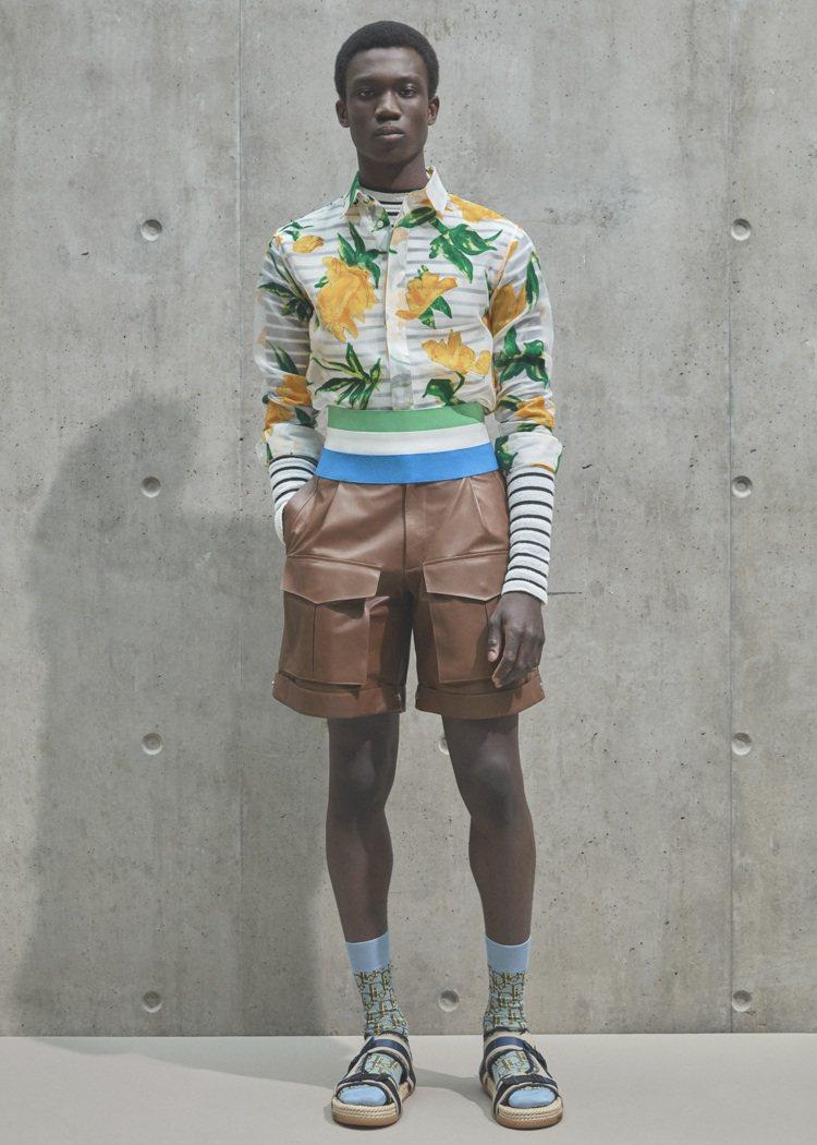 DIOR發表2021夏季系列男裝,綻放非洲大陸藝術風采。圖/DIOR提供