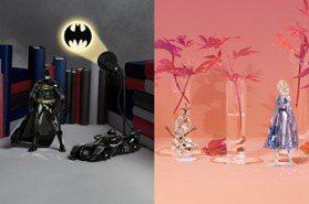 帥氣or柔美!施華洛世奇聯名蝙蝠俠、冰雪奇緣超酷擺件