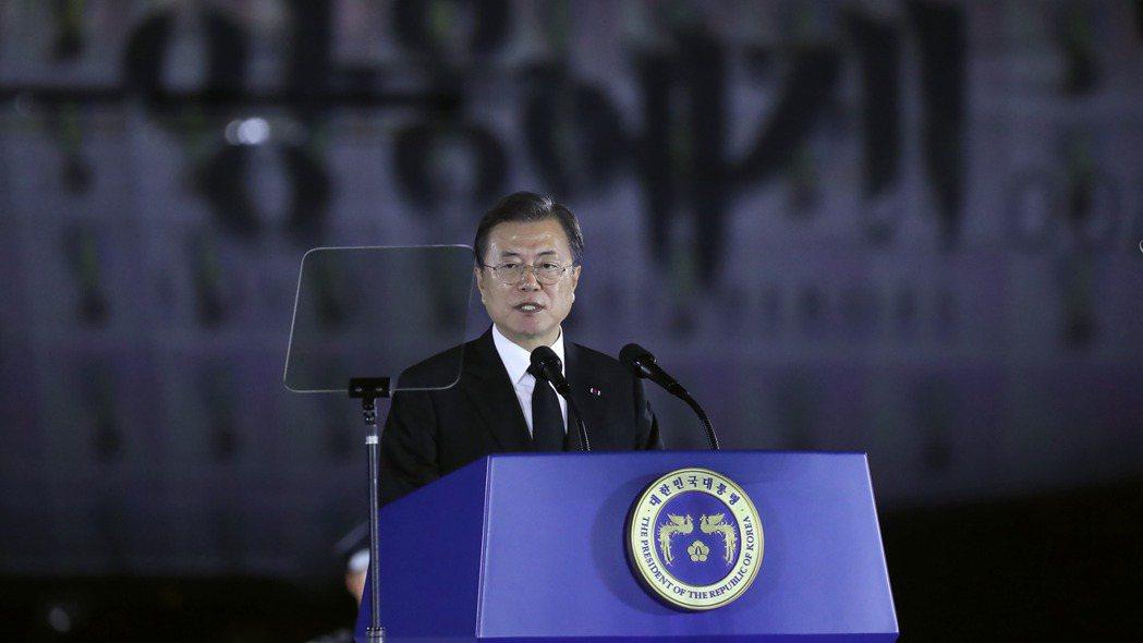 南韓總統文在寅14日宣布,政府將投入160兆韓元至「新政」, 在2025年前創造...