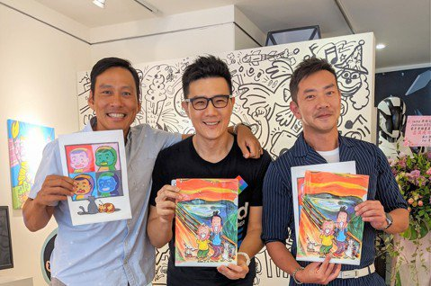 蔣偉文、艾力克斯、江俊翰曾在1997年組台灣男子團體「三片吐司」,發行單曲「早餐要吃」,團體成軍2年後解散,儘管3人同在演藝圈,各自活躍戲劇、主持領域,但未再同框,這次為了蔣偉文「Jackson &...