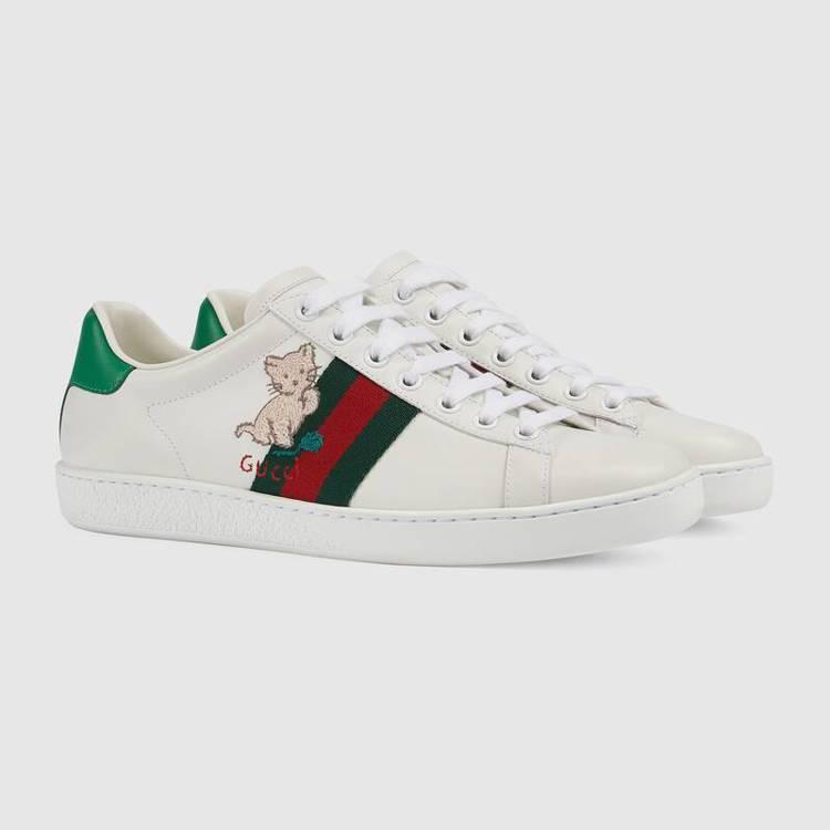 Ace系列毛球貓咪運動鞋,25,100元。圖/摘自官網