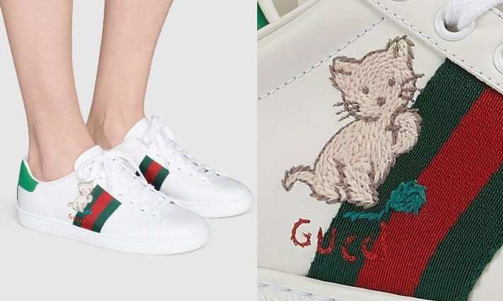 Ace系列新推出一款超可愛的新款,選用貓咪毛線球配粉紅小豬刺繡圖樣。圖/摘自官網