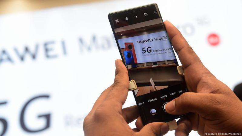 英國政府7月14日宣布,將禁止華為參與英國5G網建設,並將在2027年前拆除已經採用的華為設備。圖/德國之聲中文網