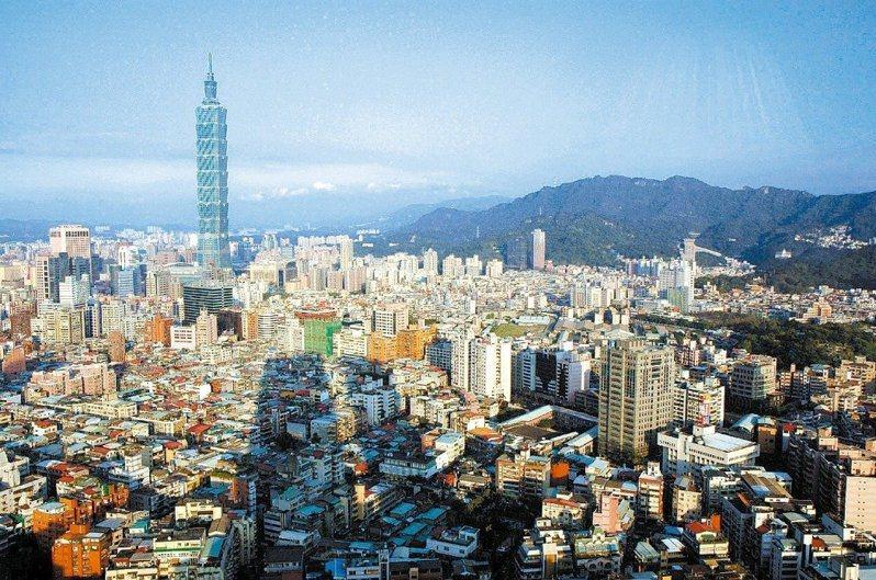 台北擁有豐富的資源,不論經濟、政治或生活交通等,都讓許多人紛紛移居到這裡生活。圖/聯合報系資料照片