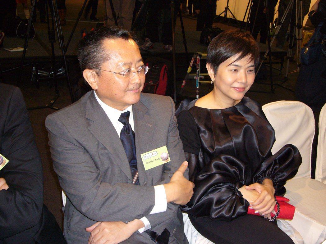 張清芳與宋學仁離婚。 圖/聯合報系資料照