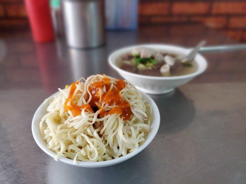 新營豆菜麵,知名度高。 圖/新營區公所提供