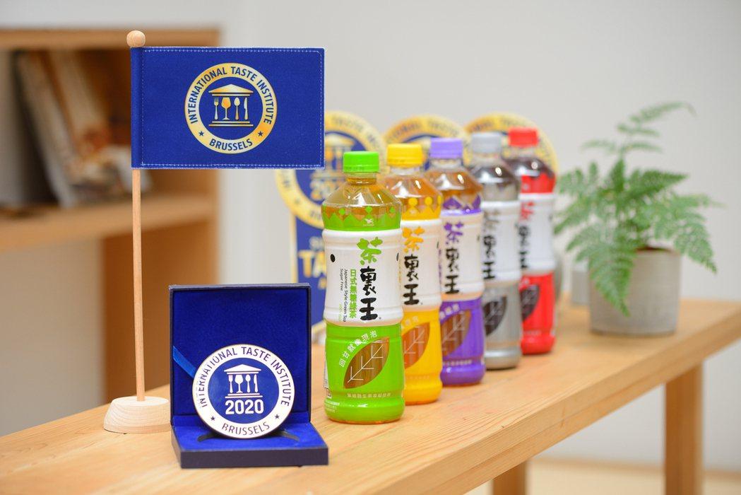 茶裏王今年再度榮獲具「食品米其林」封號的「國際風味絕佳獎章(Internatio...