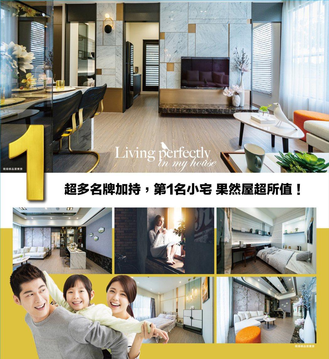 建材採用國際知名品牌,有別於一般小宅!圖片提供/京城建設