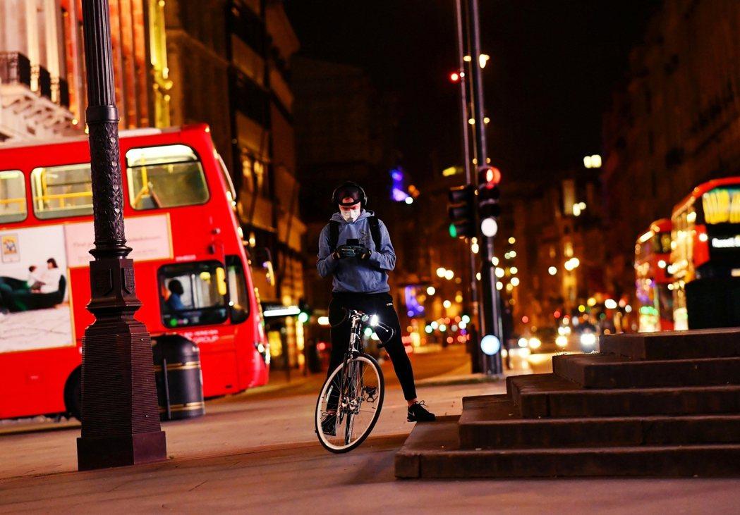圖為倫敦街頭。 圖/路透社