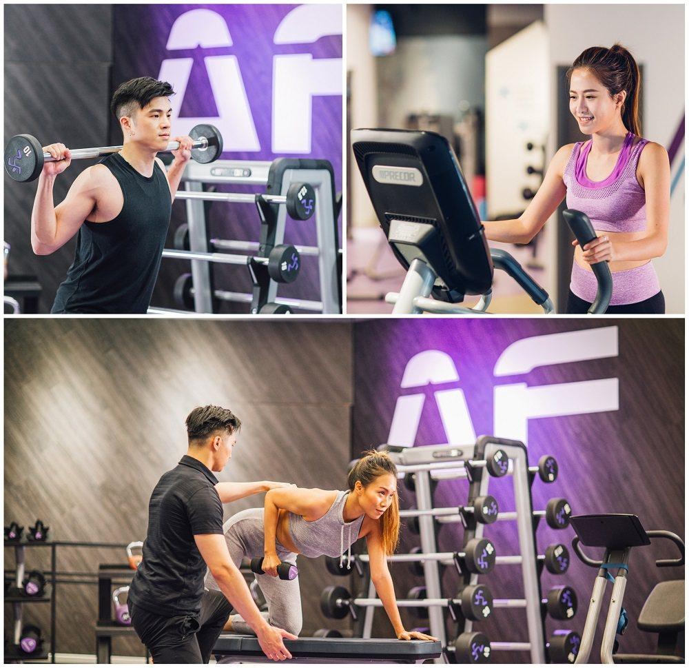 Anytime Fitness 24小時無限制入場、全時段服務,避開健身熱門擁擠...