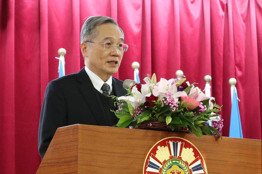 台北榮總前院長張德明 本報資料照片