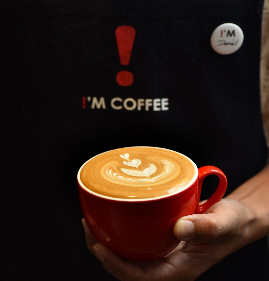 台南有四間直營門市的咖啡品牌「!'M COFFEE」,則推出「!!'M振興,加杯...