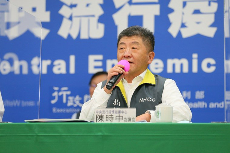 指揮中心指揮官陳時中表示,兩歲以下陸籍子女尚未選擇戶籍(國籍),「因為他們到台灣...
