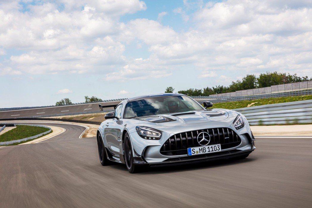 Mercedes-AMG GT Black Series。 摘自Mercedes...