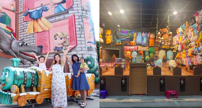 桃園新夜市「童話市集」7/17開幕。 圖/業者提供