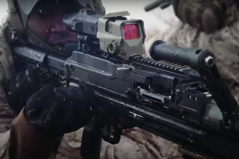 依照地形及作戰內容,可更換不同瞄具。 圖/擷自西格&紹爾公司影片