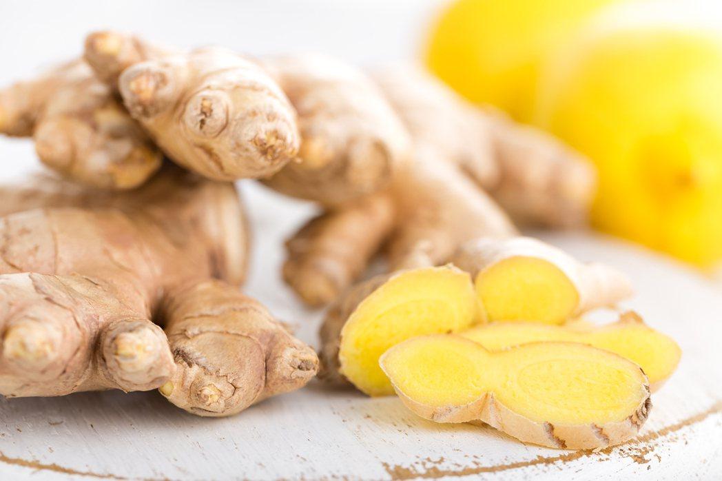 生薑有利於食物的消化和吸收,還可以降逆止嘔。圖/ingimage