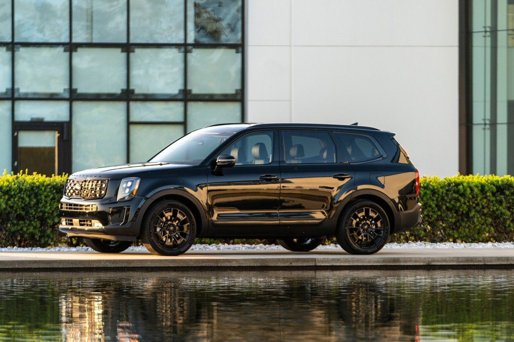 Kia Telluride Nightfall Edition作為2021年式車...