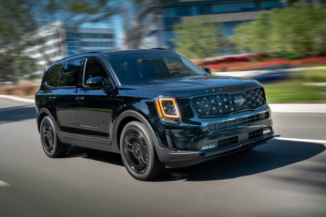 Kia Telluride Nightfall Edition。 摘自Kia
