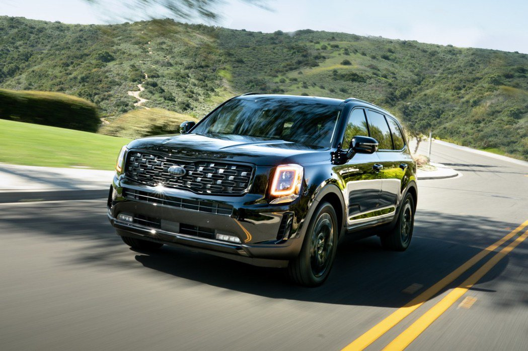 Kia Telluride Nightfall Edition黑到發亮的特仕車登...