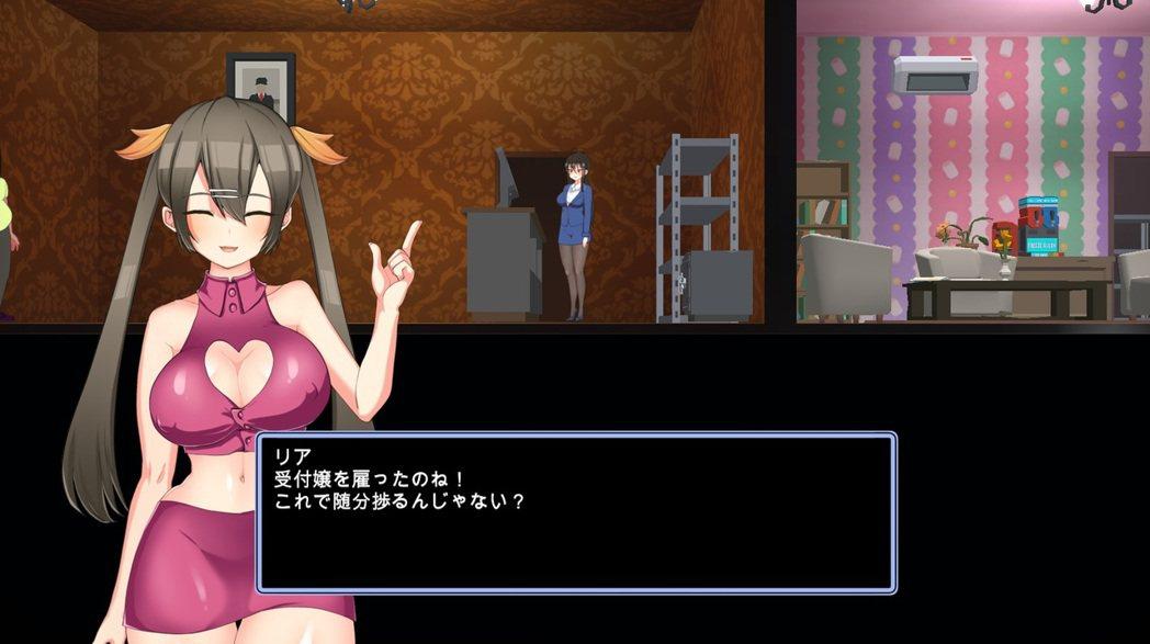 可愛的莉雅會引導玩家經營妓院,相信跟筆者一樣因為她被騙進來玩的紳士不在少數。