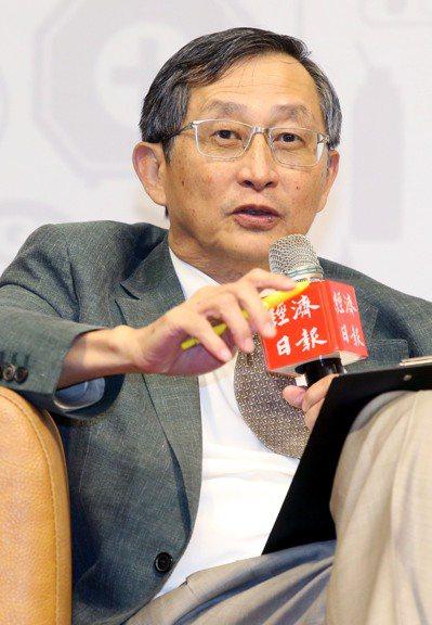 台灣研發型生技新藥發展協會理事長張鴻仁。記者林俊良/攝影