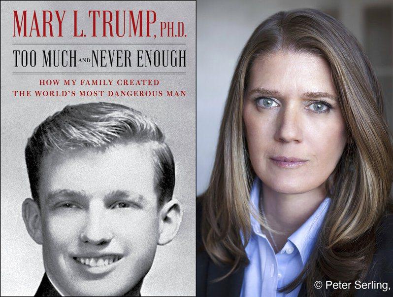 瑪麗‧川普對於「家醜」封口近20年,直到現在出版爆料新書,才將各種辛辣內幕抖出來公諸於世。 美聯社