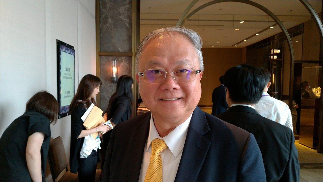 澳門台商協會會長、豪門國際開發董事長簡廷在。記者林宸誼/攝影