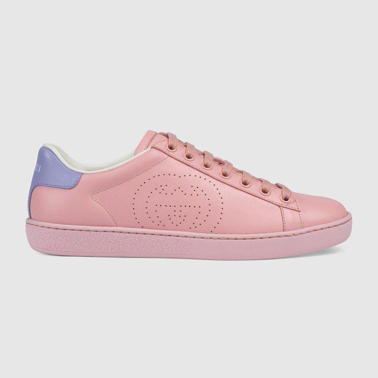 New Ace 粉紅球鞋,21,200元。圖/GUCCI提供