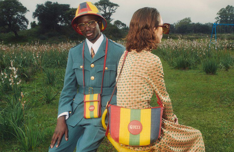男裝Baiadera系列設計靈感取自館藏圖畫中色彩元素,運用紅、黃、綠、藍配色寬...