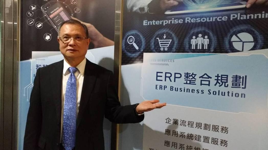 東捷資訊董事長高尚偉表示,高雄分公司開幕,擴大南台灣客戶服務及業績拓展,為在地提...