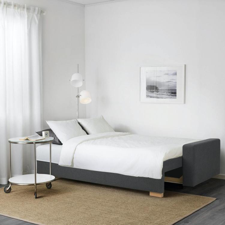 GRÄLVIKEN三人座沙發床原價13,900元,特價3,900元。圖/IKEA...