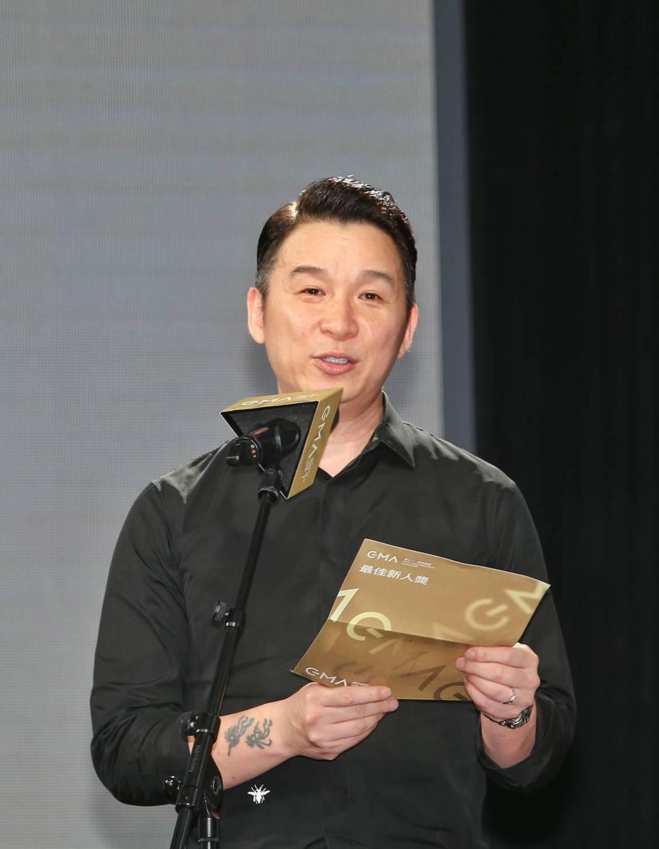 陳鎮川擔任第31屆金曲獎評審團主席,今天出席入圍記者會。記者曾原信/攝影