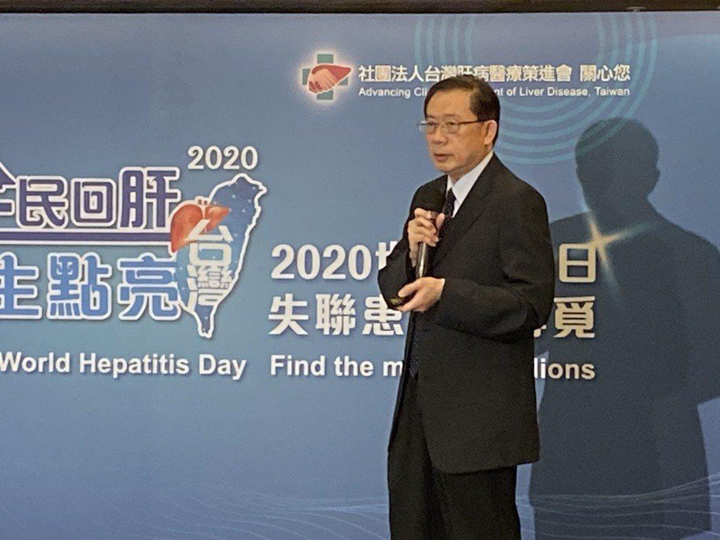 高嘉宏說,今年「全民回肝計畫」持續進行中,凡30歲以上,未接受B肝抗病毒治療、表...