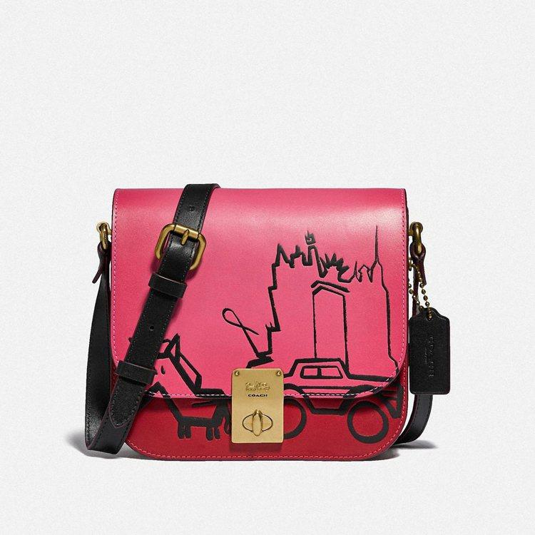 Hutton Saddle手袋,19,800元。圖/COACH提供