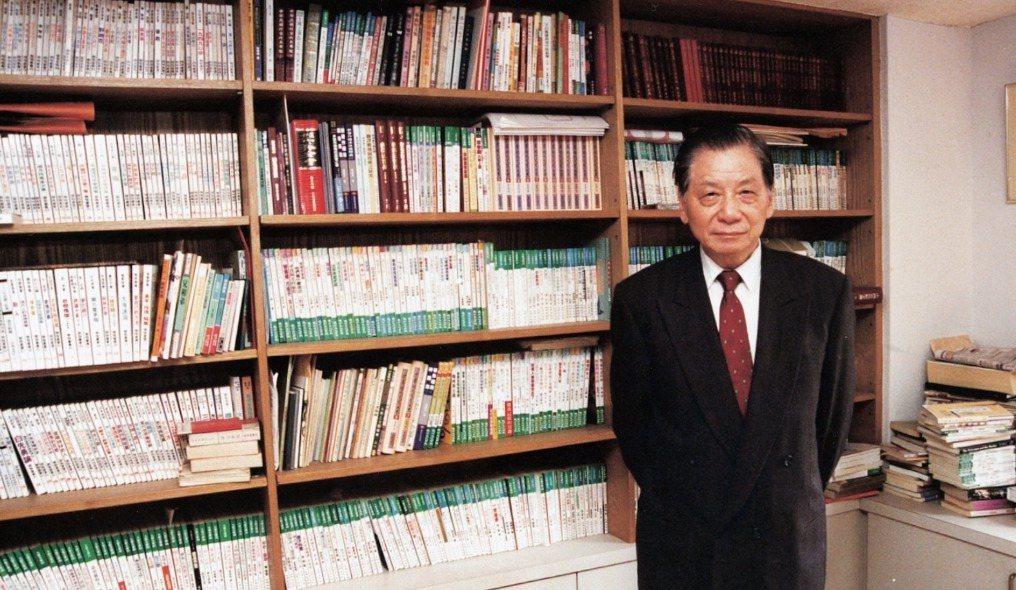 九歌出版社創辦人蔡文甫。 圖/九歌提供