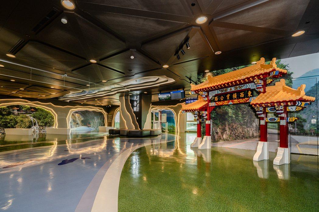 桃園機場出境主題候機室設計,獲美國高端讀者肯定。桃園機場/提供