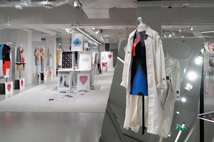 路易威登線上發表2021早春女裝。圖/LV提供