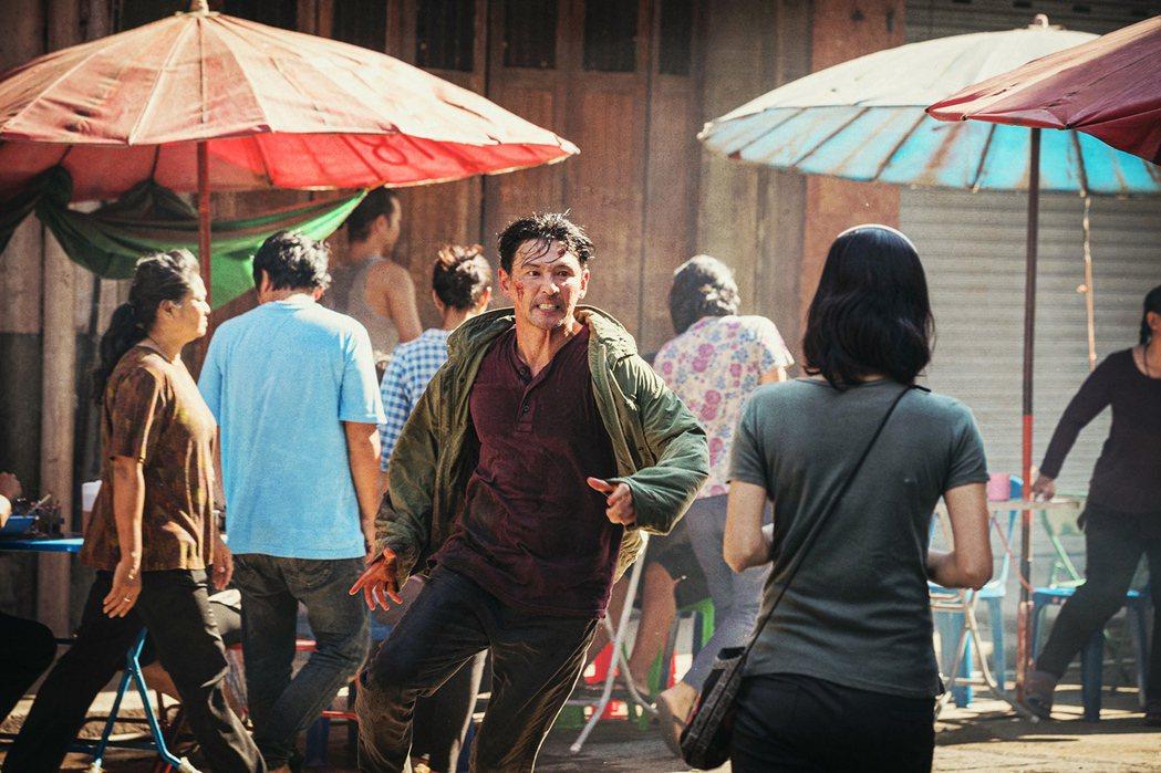 黃晸玟在「魔鬼對決」扮演捲入複雜處境的殺手。圖/采昌國際多媒體提供