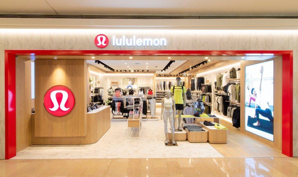 lululemon在亞洲第100間門市,7月16日將於台北101購物中心B1展店...