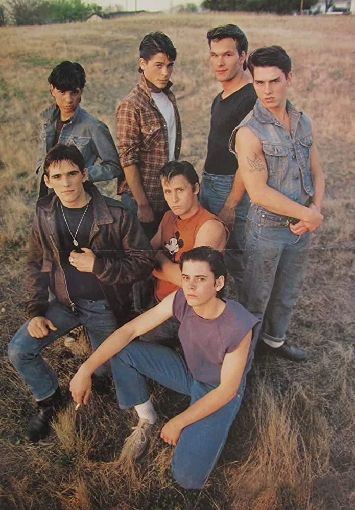 「小教父」麥特狄倫(左一起順時鐘)、雷夫馬奇歐、羅伯洛、派屈克史威茲、湯姆克魯斯...