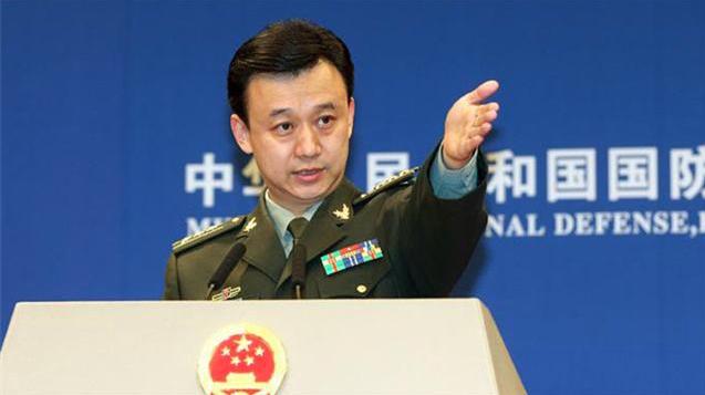 中共國防部發言人吳謙。(中共國防部官網)