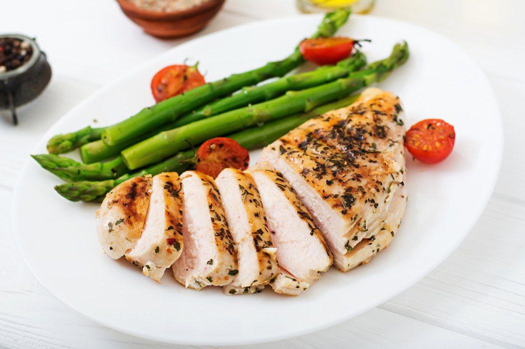 雞胸肉富蛋白質且脂肪含量低,很適合想瘦身或健身的人食用,以打造理想體態。圖/12...